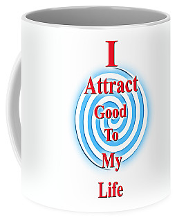 I Attract Red White Blue Coffee Mug