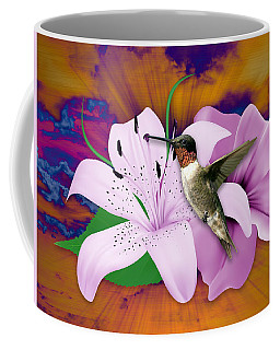 Coffee Mug featuring the mixed media I Believe I Can Fly by Marvin Blaine