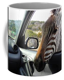 I Brake For Wildlife Coffee Mug by Jayne Wilson