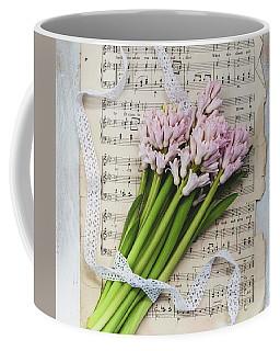 Coffee Mug featuring the photograph I Can Hear Music by Kim Hojnacki