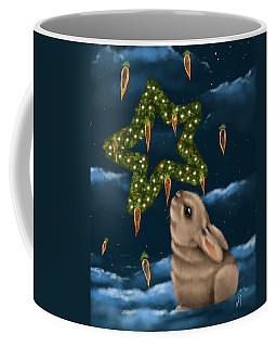 Coffee Mug featuring the painting I Can Smell The Christmas In The Air by Veronica Minozzi