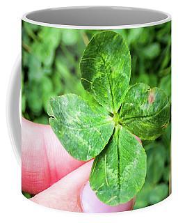 I Found A Four-leaf Clover Coffee Mug