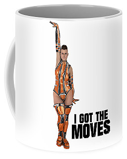 I Got The Moves Coffee Mug