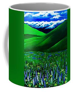 I Have The Blues In Zumwalt Coffee Mug by Jennifer Lake