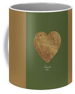 I Heart Cusco Peru Street Map Love Series No 095 Coffee Mug