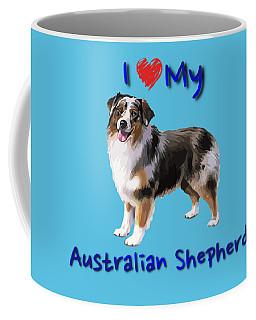 I Heart My Australian Shepherd Coffee Mug