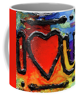I Heart You Coffee Mug by Genevieve Esson