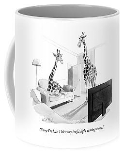 I Hit Every Traffic Light Coming Home Coffee Mug