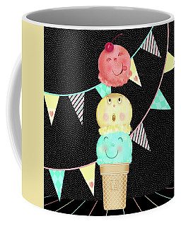 I Is For Ice Cream Cone Coffee Mug