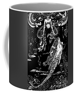 I Know What You Want Said The Sea Witch, Illustration For The Little Mermaid  Coffee Mug