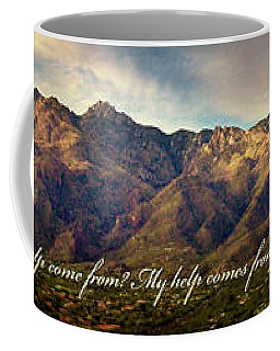 I Lift My Eyes To The Mountains Coffee Mug