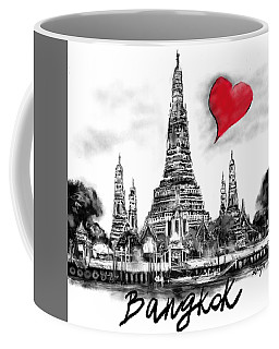 I Love Bangkok Coffee Mug