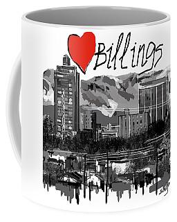 I Love Billings  Coffee Mug