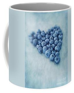 I Love Blueberries Coffee Mug
