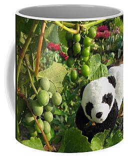 Coffee Mug featuring the photograph I Love Grapes B by Ausra Huntington nee Paulauskaite