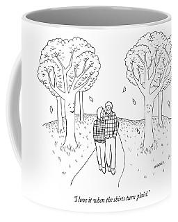 I Love It When The Shirts Turn Plaid Coffee Mug