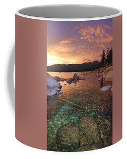 Coffee Mug featuring the photograph I Love Lake Tahoe by Sean Sarsfield