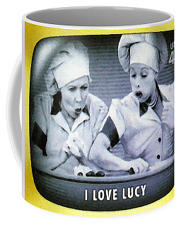 I Love Lucy Coffee Mug by Lanjee Chee