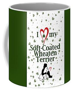 I Love My Wheaten Terrier Coffee Mug