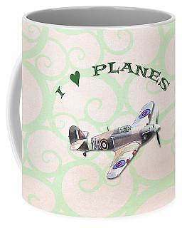 I Love Planes - Hurricane Coffee Mug