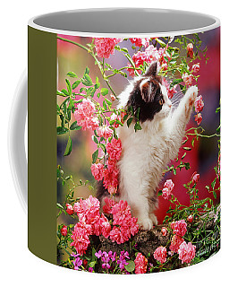 I Love Roses Coffee Mug
