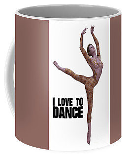 I Love To Dance Coffee Mug