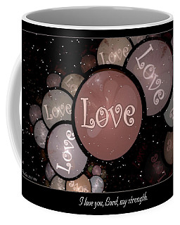 I Love You Coffee Mug