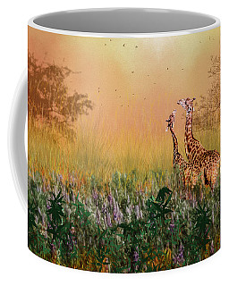 Coffee Mug featuring the photograph I Love You Mom by Diane Schuster