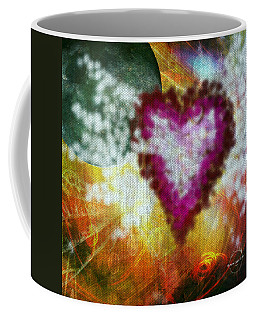 Coffee Mug featuring the digital art I Love You To The Moon And Back... by Absinthe Art By Michelle LeAnn Scott