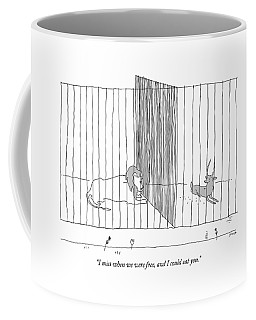 I Miss When We Were Free And I Could Eat You Coffee Mug