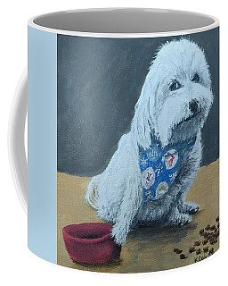 Coffee Mug featuring the painting No Bowls by Kevin Daly