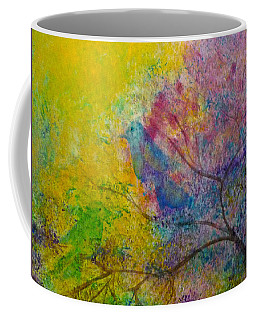 Coffee Mug featuring the painting I See Birds by Claire Bull