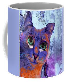 I See You Cat Coffee Mug