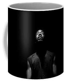 Coffee Mug featuring the photograph I See Your Face by Eric Christopher Jackson