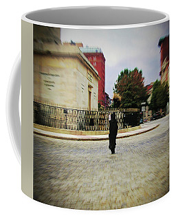Coffee Mug featuring the photograph I Walk Alone by Brian Wallace