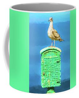 I Will Be Your Lifeguard Watercolor Coffee Mug