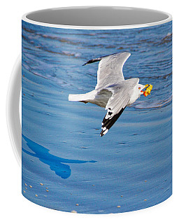 Coffee Mug featuring the photograph I Will Not Share by Linda Brown
