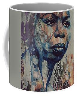 I Wish I Knew How It Would Be  Feel To Be Free Coffee Mug