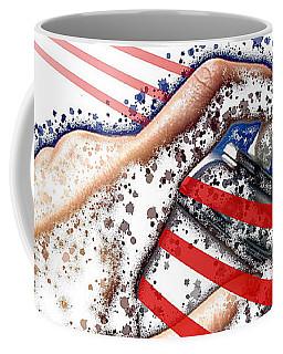 Coffee Mug featuring the digital art I Woz Here by ISAW Company