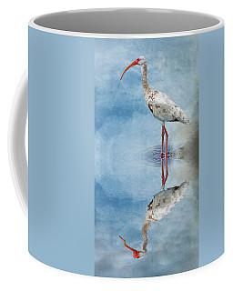 Ibis Coffee Mug by Cyndy Doty
