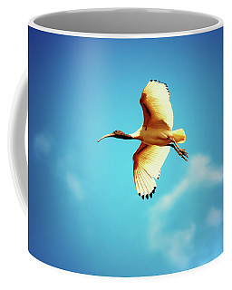 Ibis Of Light Coffee Mug