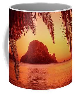 Ibiza Sunset Coffee Mug by Iryna Goodall