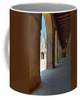 Ibn Tulun Great Mosque Coffee Mug by Nigel Fletcher-Jones