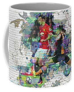 Ibrahimovic Street Art Coffee Mug