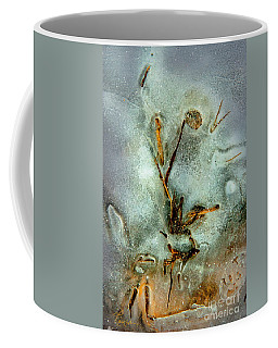 Ice Abstract Coffee Mug by Tom Cameron