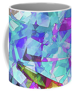Coffee Mug featuring the digital art Ice Age by Wendy J St Christopher