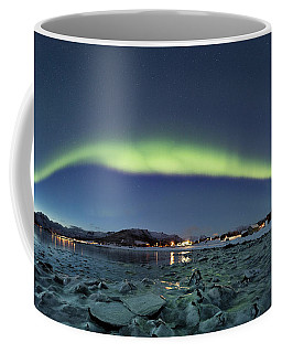Ice And Northern Lights Coffee Mug