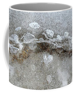 Ice And The Beach Four  Coffee Mug by Lyle Crump