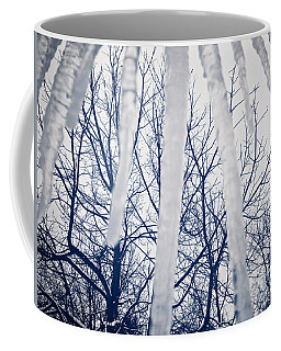 Coffee Mug featuring the photograph Ice Bars by Robert Knight