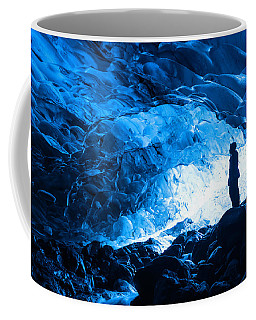 Ice Cave Explorer Coffee Mug